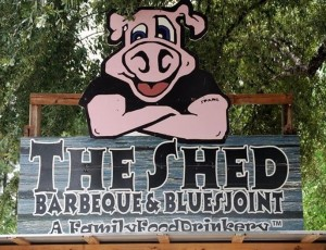 Shed Ocean Springs Sign